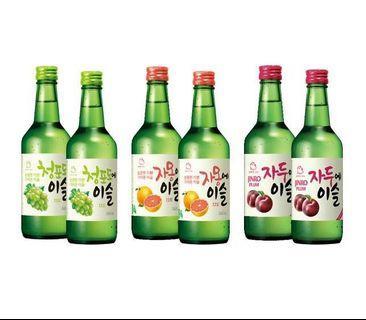 🚚 Jinro Korean flavoured Soju