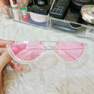 KACAMATA WATERMELON CLEAR PINK