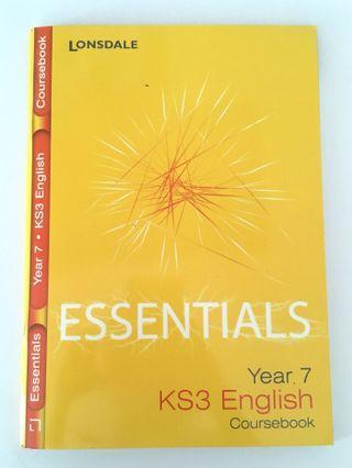KS3 Lonsdale Essentials English Coursebook