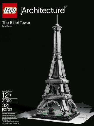 LEGO The Eiffel Tower (21019)勁新淨