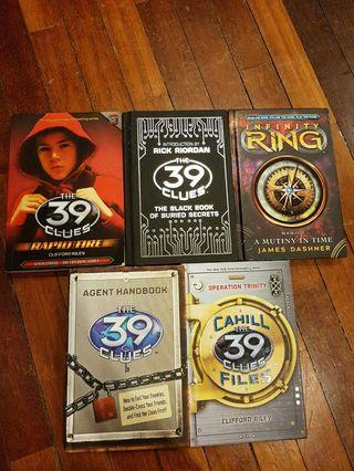 Other books of 39 clues and infinity ring