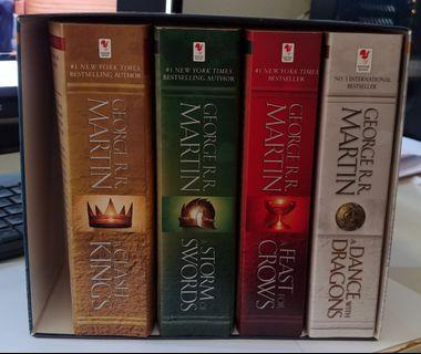 Game of Thrones Book 1-5
