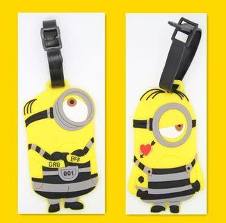 Minion Luggage Tags