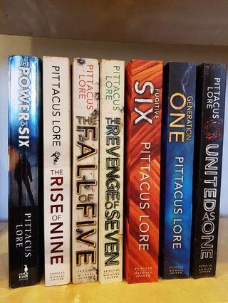 English Novels- Lorien series