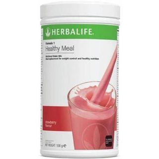 HERBALIFE NUTRITIOUS MIXED SOY PROTEIN DRINK F1 STRAWBERRY FLAVOUR 【100% ORIGINAL GENUINE HERBALIFE PRODUCT 】