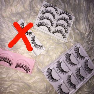 ALL LASHES FOR $10