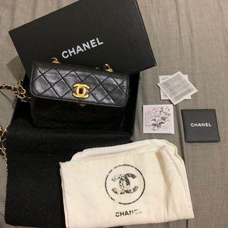 《甜甜價》迷你老香包 Vintage Chanel Mini bag