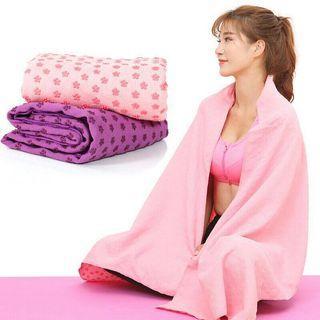 Non-Slip Yoga Mat Towel Sweat Absorb