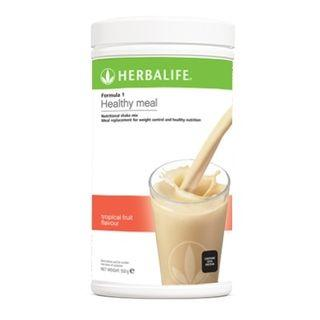 HERBALIFE NUTRITIOUS MIXED SOY PROTEIN DRINK F1 TROPICAL FRUIT FLAVOUR 【100% ORIGINAL GENUINE HERBALIFE PRODUCT 】