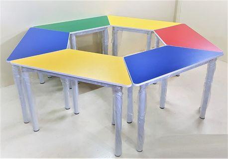 Colourful Kindergarden Table