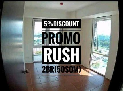 RFO RUSH- 5% PROMO DISCOUNT AND 0% INTEREST AFFORDABLE - 2br 50.32sqm AT PIONEER WOODLANDS NEAR BONI AVE, PIONEER ST, BARANGKA, JRU, GUADALUPE, MANDALUYONG, SHAW BOULEVARD, GREENFIELD DISTRICT, SM MEGAMALL, STARMALL