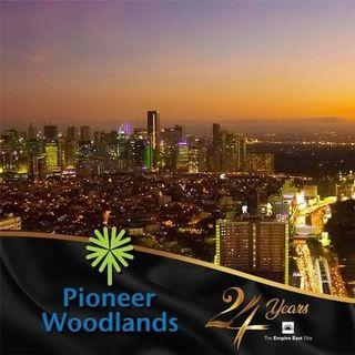 Very accessible transit oriented condo and less stress traffic near at mrt station with - 2 BEDROOM 50.32SQM READY FOR OCCUPANCY FAST MOVE IN 5% PROMO DISCOUNT RENT TO OWN CONDO AT PIONEER WOODLANDS MO. NEAR BONI AVE, PIONEER ST, BARANGKA, JRU, GUADALUPE,