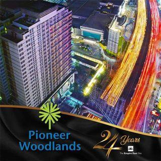 RENT TO OWN CONDO 2br 50.32sqm FOR SALE PROMO BLAST 5% AROUND 200K UP TO 800K PLUS 0% INTEREST AND 5% TO MOVE IN RENT TO OWN CONDO AT PIONEER WOODLANDS MO. NEAR BONI AVE, PIONEER ST, BARANGKA, JRU, GUADALUPE, MANDALUYONG