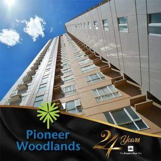 RFO RUSH!! 5% PROMO DISCOUNT 2 BEDROOM 50.32SQM WITH NO HIDDEN CHARGES RENT TO OWN CONDO AT PIONEER WOODLANDS MO. NEAR BONI AVE, PIONEER ST, BARANGKA, JRU, GUADALUPE, MANDALUYONG, SHAW BOULEVARD, GREENFIELD DISTRICT, SM MEGAMALL, STARMALL
