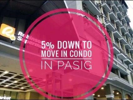 RFO FIT with 5% down payment to move in - Pasig Condo KASARA Rent to own near UGONG, P.E ANTONIO, ROSARIO, A.SANDOVAL, SM MEGAMALL, TIENDESITAS, SM CENTER PASIG