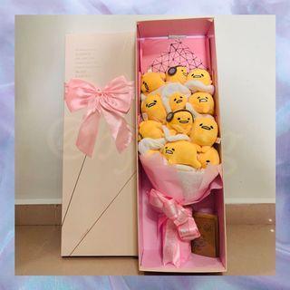 Gudetama Cartoon Character Bouquet with Gift Box