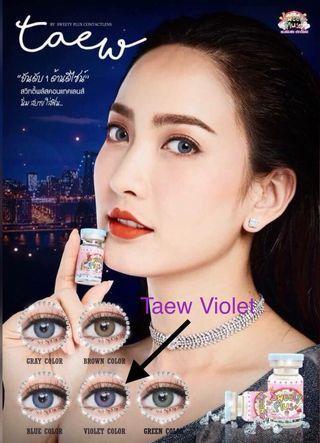 Taew Violet 0 Degree Contact Lens