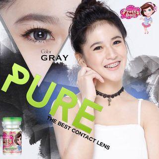 Pure Gray 0 Degree Contact Lens