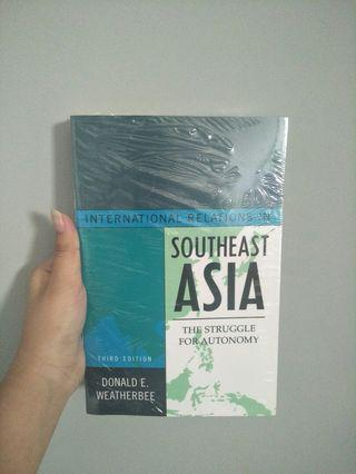 International Relations South East Asia