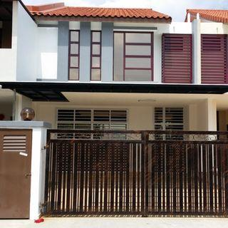 2 Storey Terrace House 100% loan 22x75 For sell