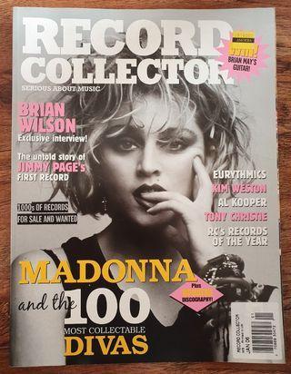 Madonna - Records Collector Magazine Jan 2006 Madame X