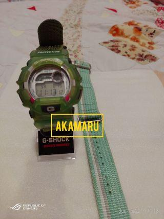 GShock DW9500 Jelly Green