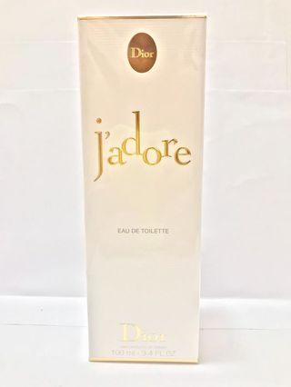 全新Dior Jadore EDT 淡香水 100ml