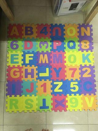 ABC Puzzle playmat