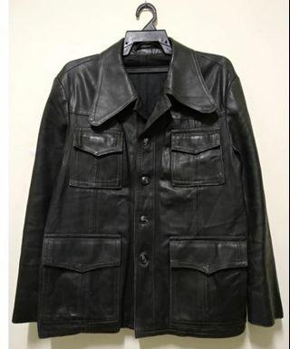 Vintage Leather Jacket Kreis