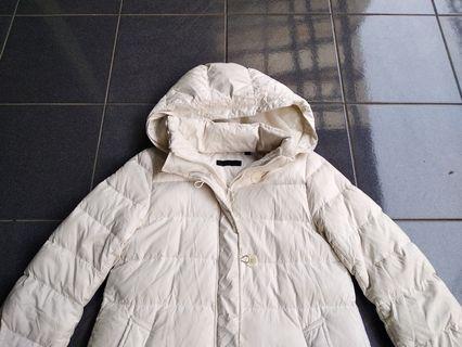 Jaket winter uniqlo bulu angsa parka long coat