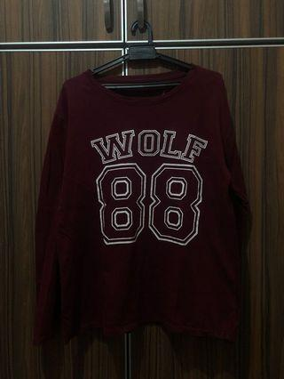 Wolf Shirt ‼️2 For RM 15 ‼️