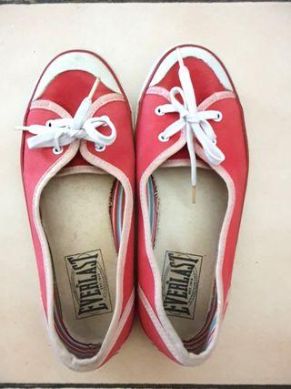 Everlast shoes red / sepatu merah everlast