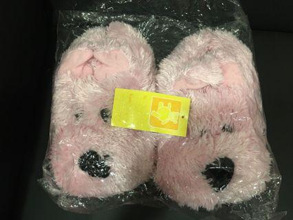 House Slippers -Pink Fluffy