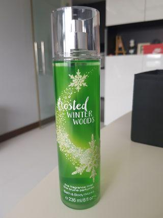 Bath and Body Works Fragrance Mist in Frosted Winter Woods