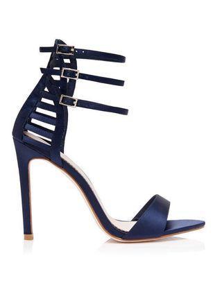 Navy Stiletto Heels