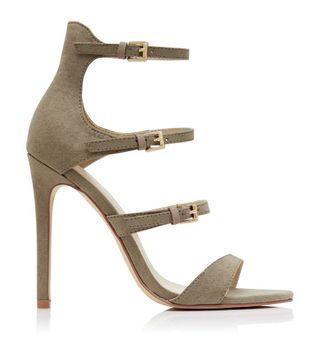 Grey Stiletto Heels