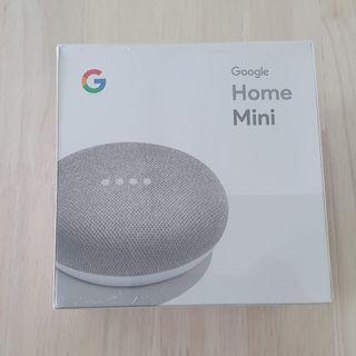 Google Home Mini Chalk Genuine Authentic NEW Sealed