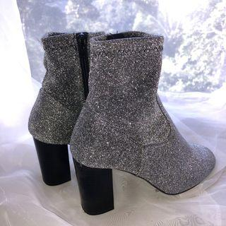 sparkly sock boots!!