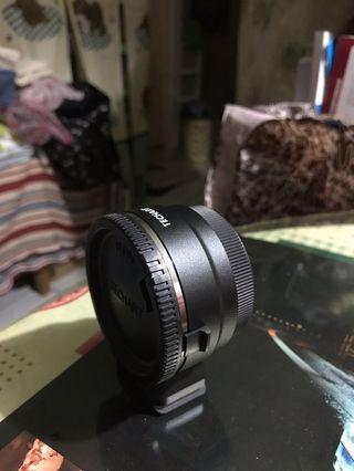 🚚 Techart III 天工三 天工3 EOS-NEX 轉接環 (Canon EF 轉 SONY E)