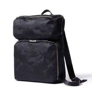 Headporter rucksack Luna Collection black Camo texture fabric