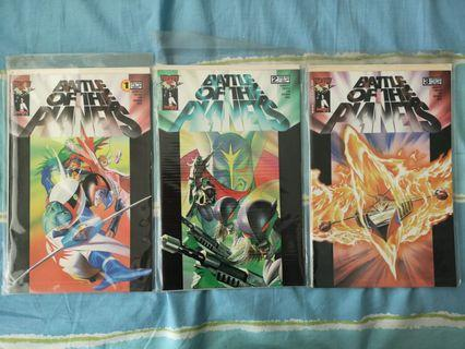 🚚 Image Battle of the Planets #1, 2, 3 Alex Ross Covers