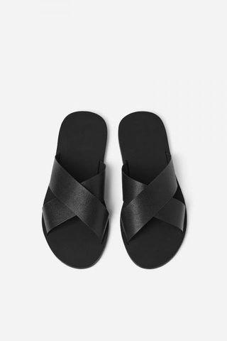 ZARA Crossover Straps Sandal