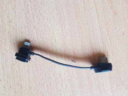 Dji mavic pro rc iphone ios cable