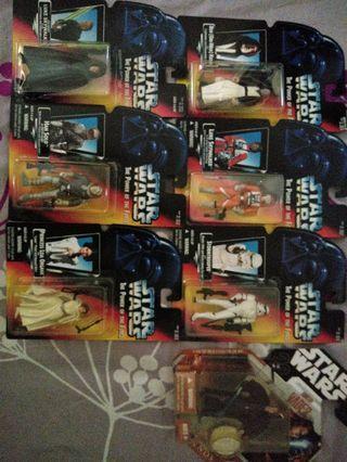 Starwars figures
