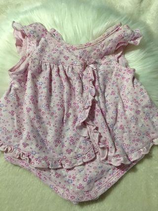 Baby dress so cute in actual 0-6 mnths fabric is super soft