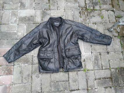 Jacket kulit original brand wind armor