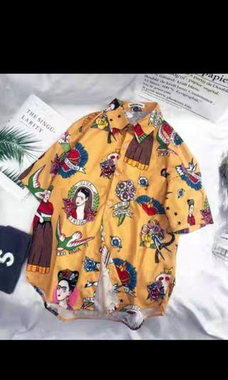 🚚 vintage hipster ulzzang style shirt