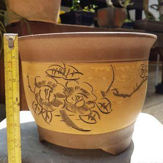 Bonsai round pot for flowers and Plants