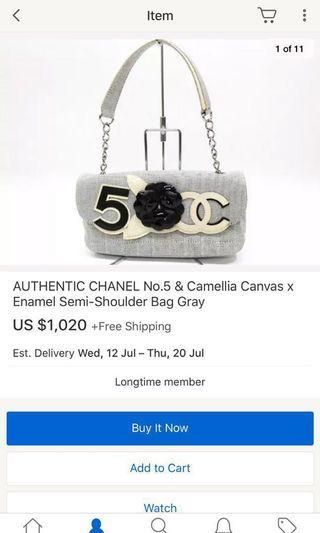 🚚 Authentic Chanel Vintage 3 way handbag