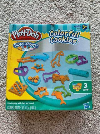 🚚 Play Doh colourful cookies